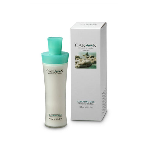 CANAAN Minerals & Herbs - Cleanser Milk For Normal To Oily Skin - DeadSeaShop.com