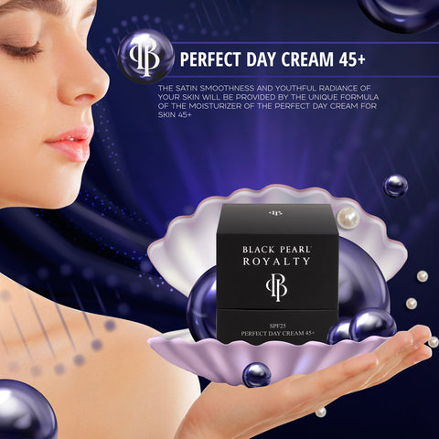 Black Pearl Royalty - Perfect Day Cream 45+ - DeadSeaShop.com