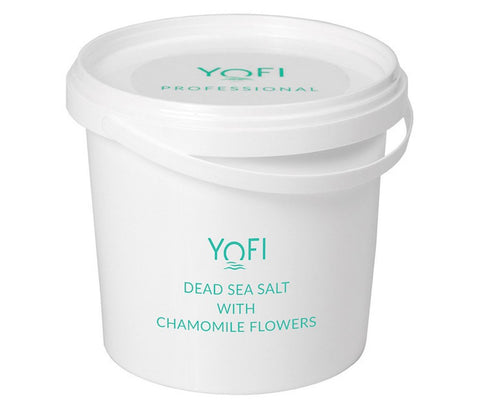 Dead Sea Salt with Chamomile Flowers Bucket 1kg (1000gr)