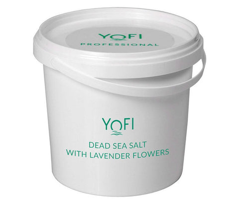 Dead Sea Salt with Lavender Bucket 1kg (1000gr)