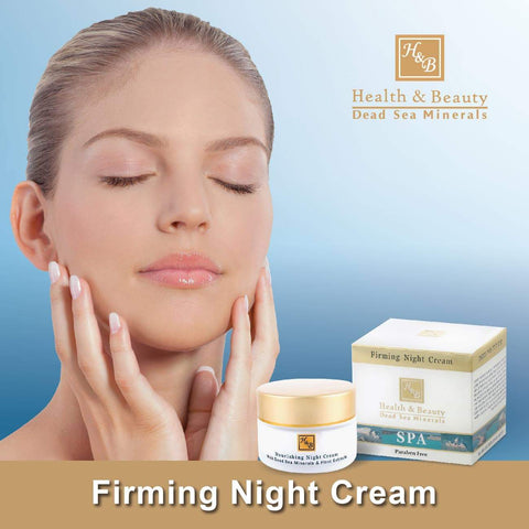 Health & Beauty - Firming Night Cream - DeadSeaShop.com