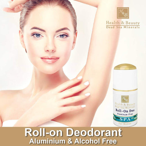 Health & Beauty - Roll-on Deo Aluminium Free - DeadSeaShop.com