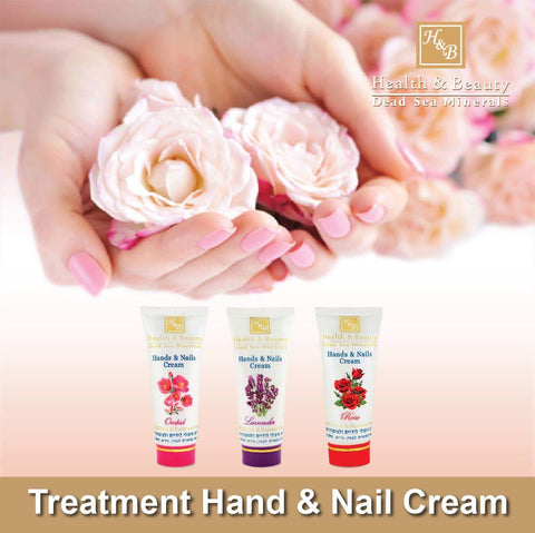 Health & Beauty - Treatment Hand & Nail Cream - DeadSeaShop-com