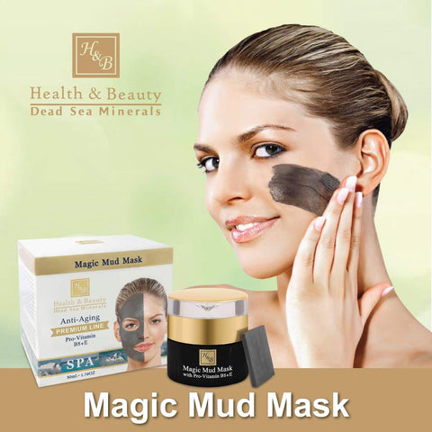 Health & Beauty - Magic Mud Mask - DeadSeaShop.com