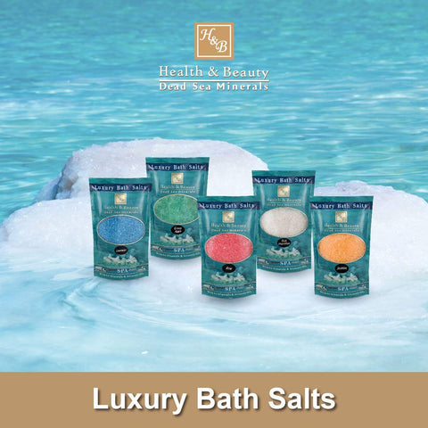 Health & Beauty - Luxury Bath Salts  - DeadSeaShop-com
