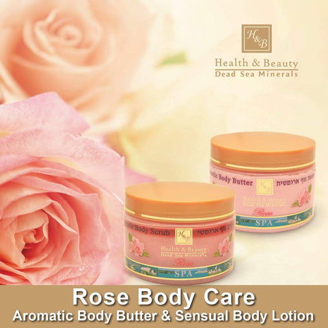 Health & Beauty - 1+1 SET - Rose Body Care - DeadSeaShop-com