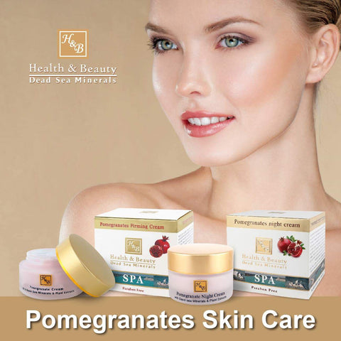 Health & Beauty - 1+1 SET - Pomegranates Skin Care - DeadSeaShop-com