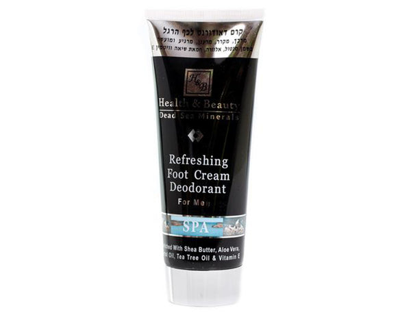 Health & Beauty - Foot Cream Deodorant - DeadSeaShop-com