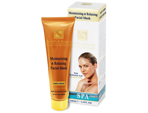 Moisturizing & Relaxing Facial Mask