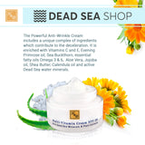 Health & Beauty - Powerful Anti-Wrinkle Cream - DeadSeaShop.com