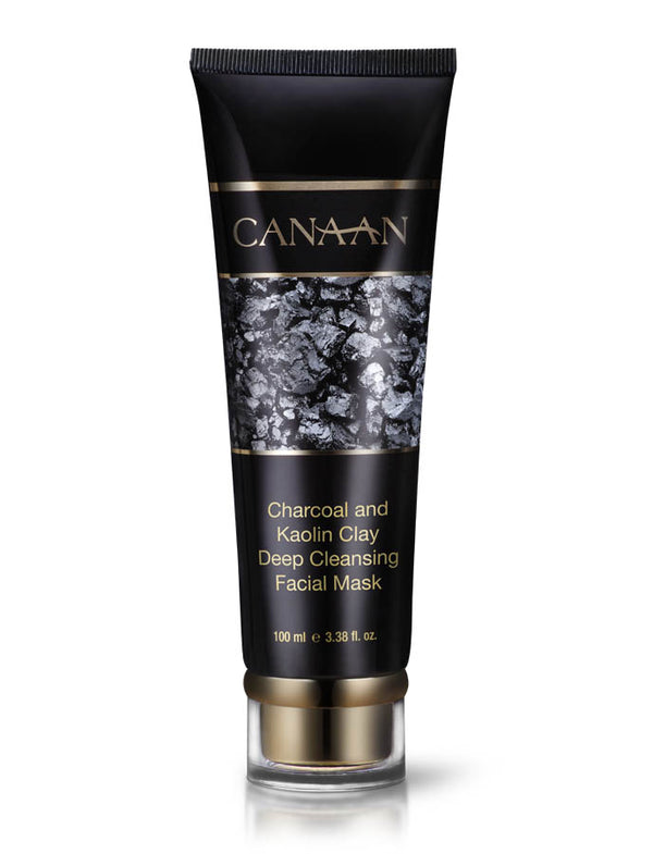 Canaan Charcoal and Kaolin Clay Deep Cleansing Facial Mask - deadseashop.com