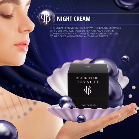 Black Pearl Royalty - Night Cream - DeadSeaShop.com