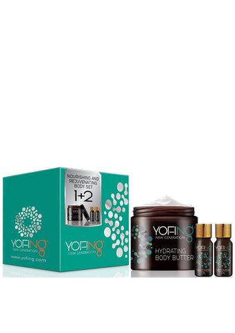 YOFING - Nourishing and Rejuvenating Body Set - DeadSeaShop.com