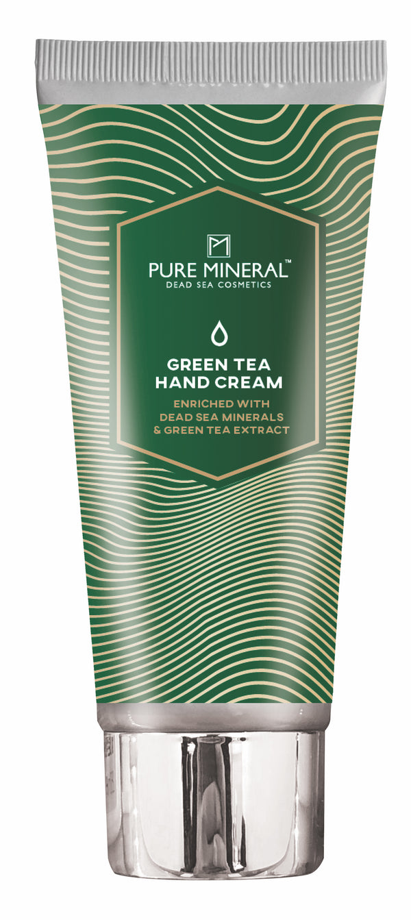 Pure Mineral Hand Cream Green Tea - deadseashop.com