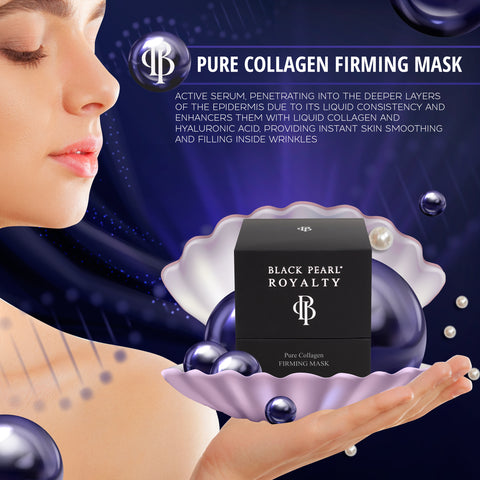 Black Pearl Royalty - Pure Collagen Firming Mask - DeadSeaShop.com
