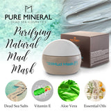Pure Mineral - Purifying Natural Mud Mask - DeadSeaShop.com