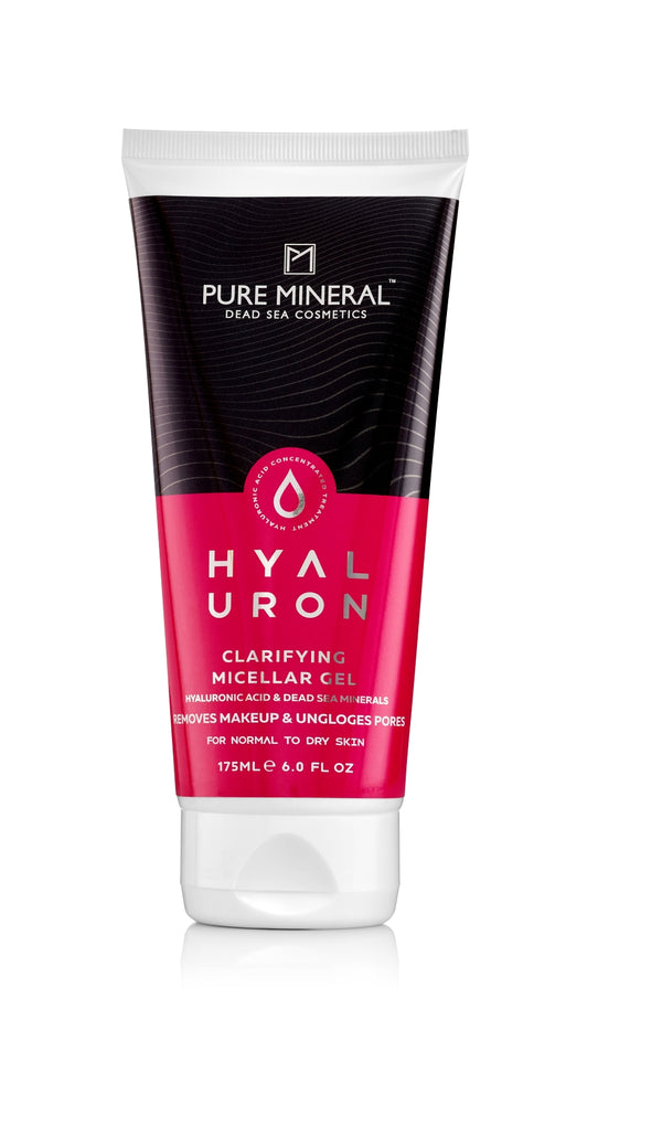 Pure Mineral - Clarifying Micellar Gel - For Normal to Dry Skin - deadseashop.com
