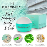 Pure Mineral - Rich Foaming Body Scrub - DeadSeaShop.com