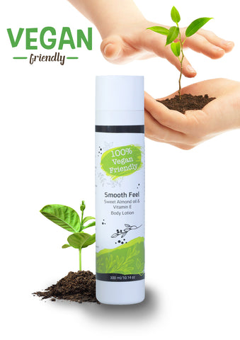 100% Vegan Friendly - Smooth Feel Body Lotion - DeadSeaShop.com