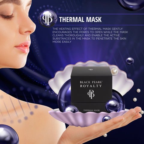Black Pearl Royalty - Thermal Mask - DeadSeaShop.com