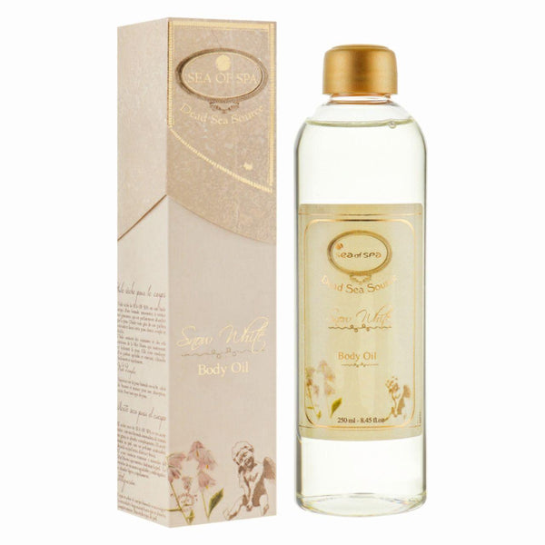 Sea of Spa - Snow White Body Oil - deadseashop.com