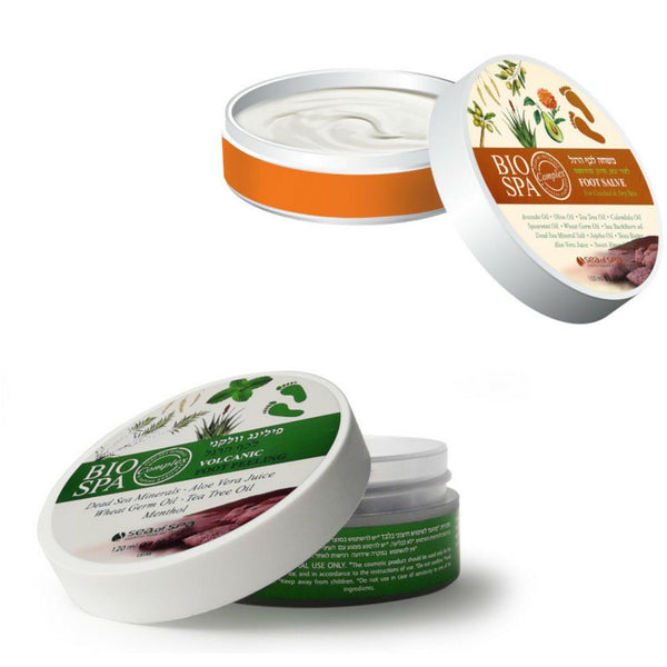 Sea of Spa Bio Spa Foot Treatment - Peeling & Butter - deadseashop.com