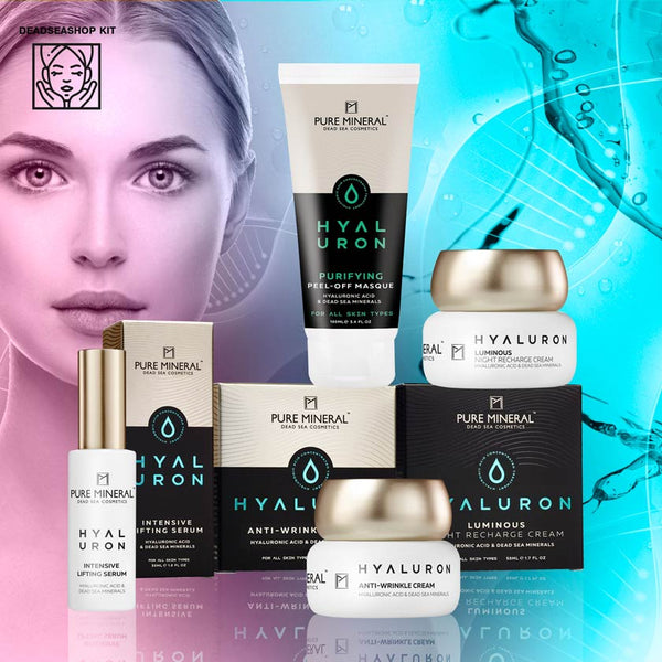 Pure Mineral Lifting Serum & Cream + 2 FREE Night Cream & Peel Off Mask - dedseashop.com