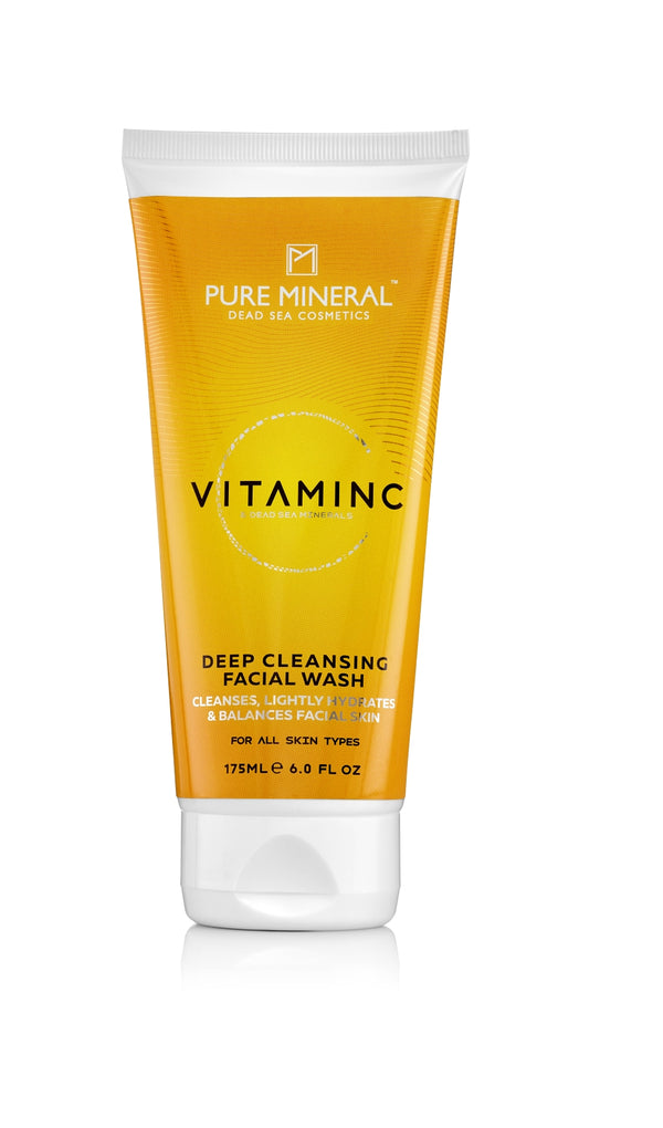Pure Mineral Deep Cleansing Facial Wash - deadseashop.com