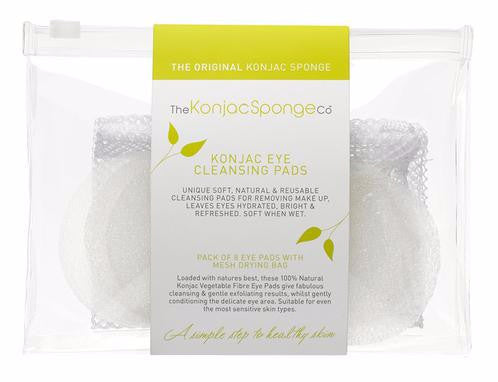 The Konjac Sponge.co Eye pads 8 stk. tilbud