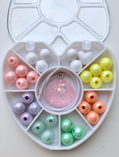 Mini Heart : Shell : Bobble It Yourself Kit