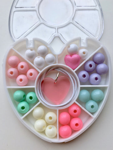 Mini Heart : Pastel : Bobble It Yourself Kit