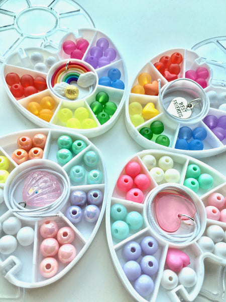Mini Heart : Rainbow : Bobble It Yourself Kit
