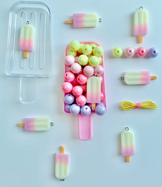 Pink Icy Pole Bobble It Yourself Kit