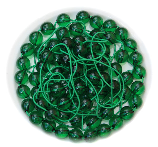 Original Gum Ball Green Bobble Hair Ties