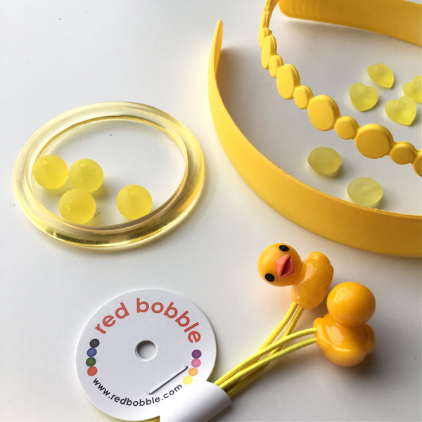 Mini Ducklings Hair Ties
