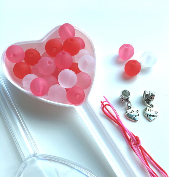 Heart  p o p  BFF  Bobble It Yourself Kit