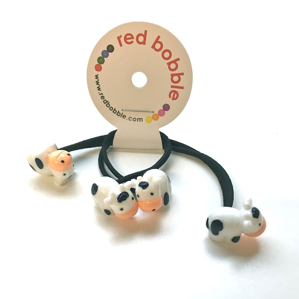 Mini Cows Hair Ties