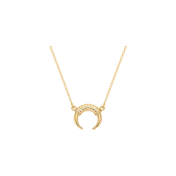 Anna Beck Horn Necklace Gold
