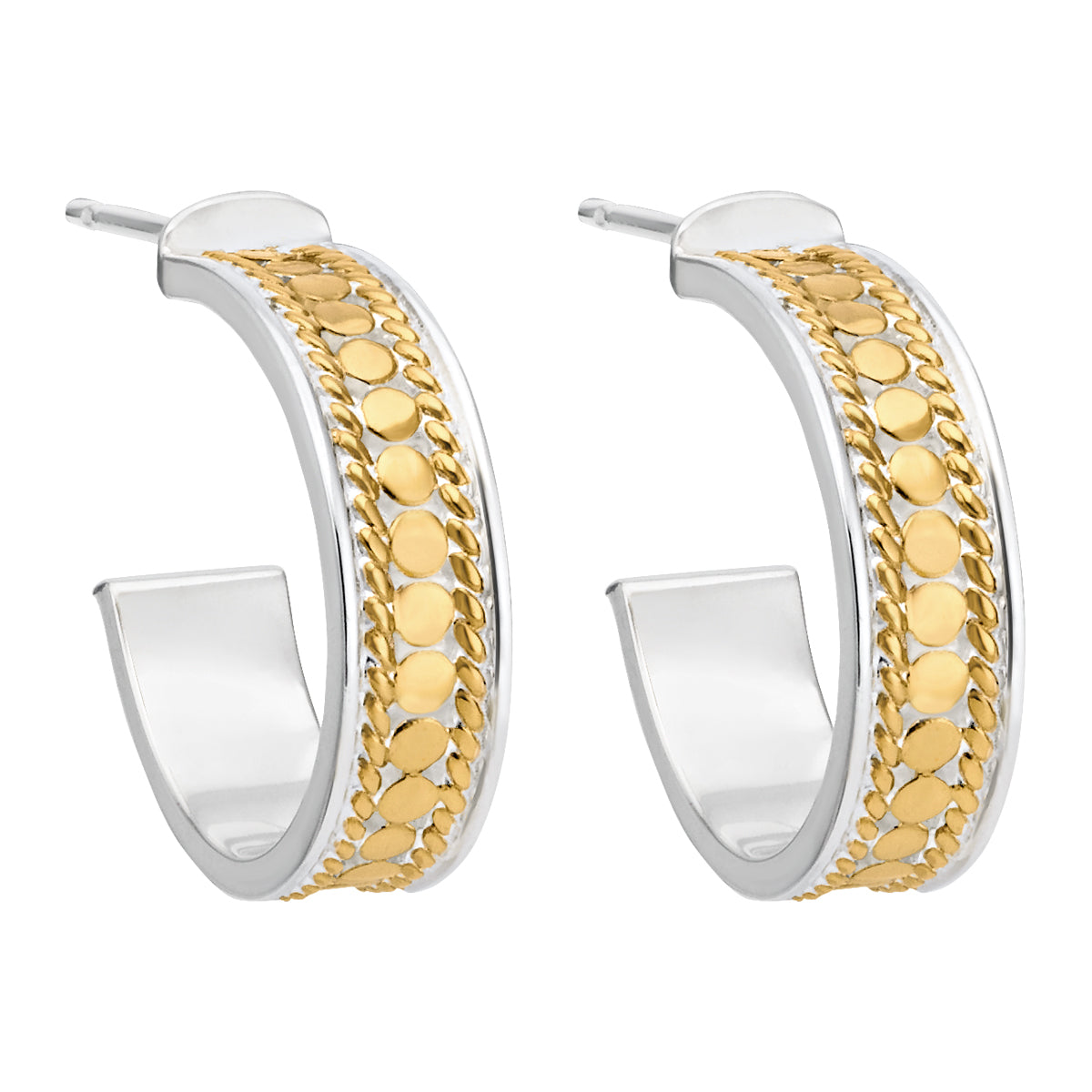 Anna Beck Hoop Post Earrings Gold