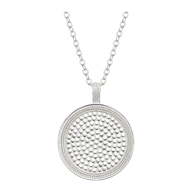 Anna Beck Reversible Circle Pendant Necklace