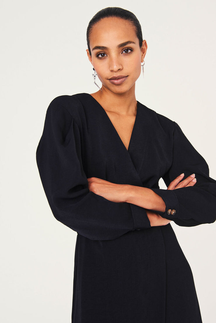 Ba&sh Briane dress Black
