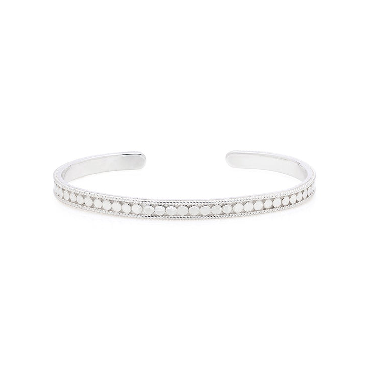 Anna Beck Dotted Stacking Cuff Silver