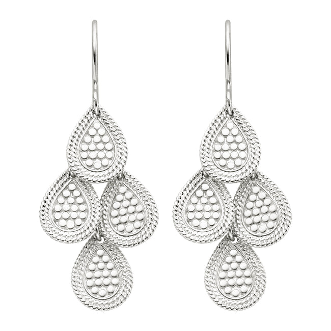 Anna Beck Chandelier Earring Silver