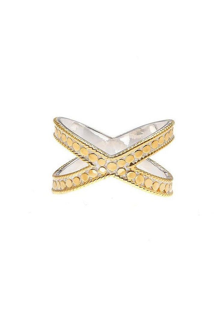 Anna Beck Cross Ring Gold