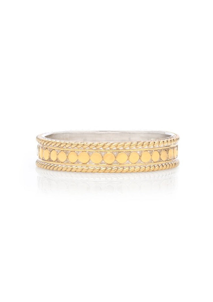 Anna Beck Dotted Stacking Ring Gold