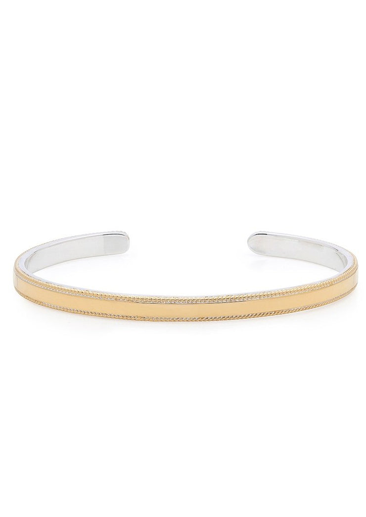 Anna Beck Smooth Stacking Cuff Gold