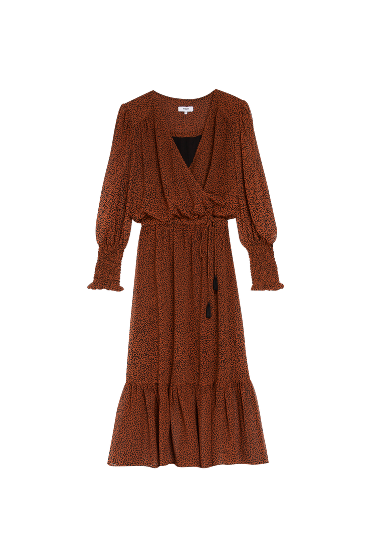 Suncoo Calixte Dress Tabac