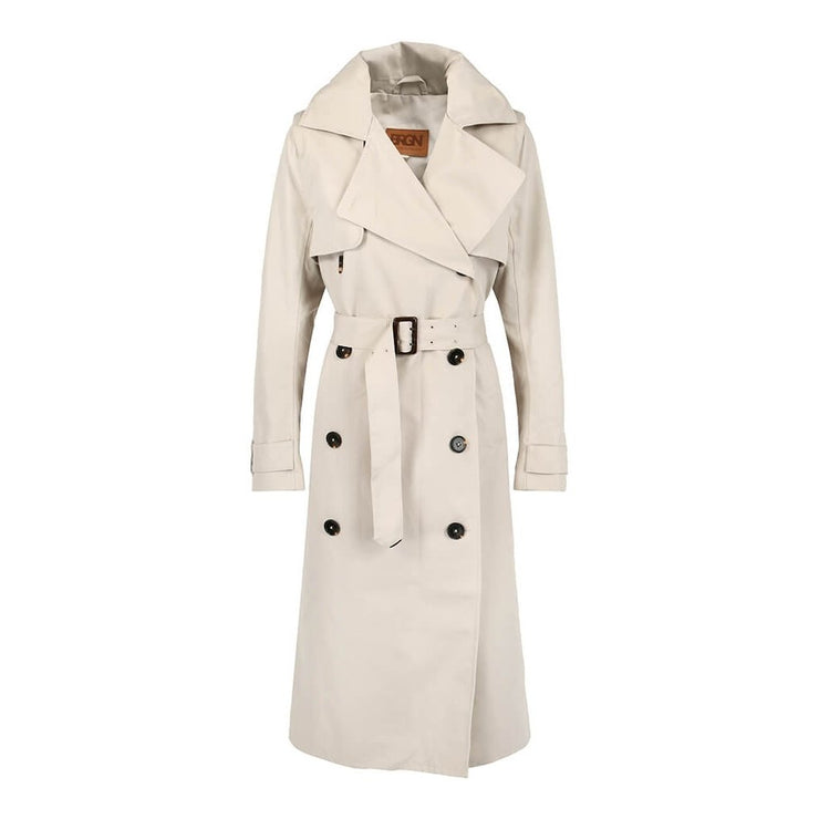BRGN Dis Trench Coat