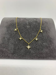 ICANDI ROCKS Valhalia Star Charm Necklace