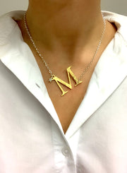 Chambers & Beau Initial Necklace